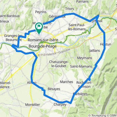 Mours-Saint-Eusèbe Cycling