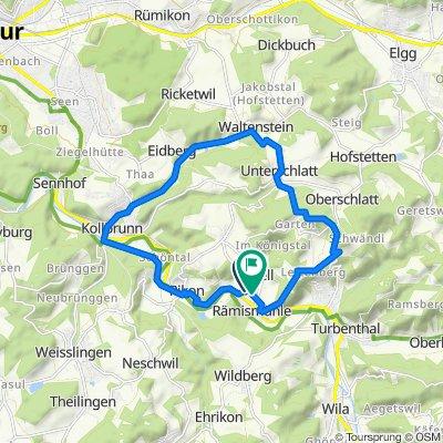 Kollbrunn/Schlatt/Girenbad