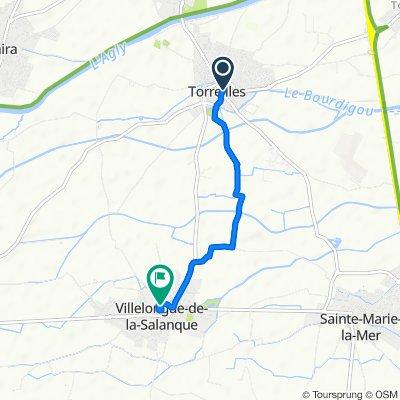 Easy ride in Torreilles