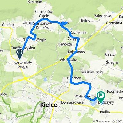 Powolna trasa w Leszczyny