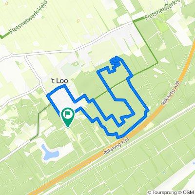 Landal t Loo bos wandelroute 6 km