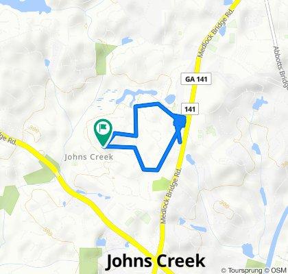365 Satterwhite Dr, Johns Creek to 365 Satterwhite Dr, Johns Creek