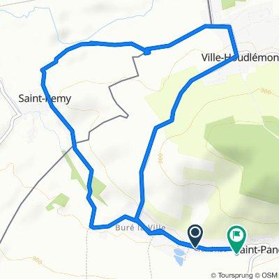 Restful route in Saint-Pancré