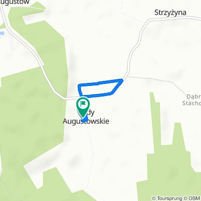 Powolna trasa w Grabów nad Pilicą
