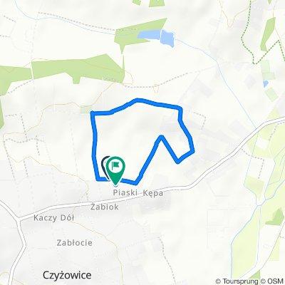 Steady ride in Czyżowice