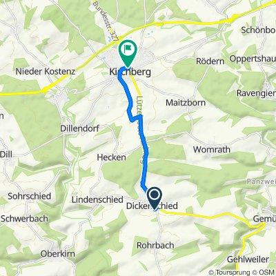 Steady ride in Kirchberg (Hunsrück)