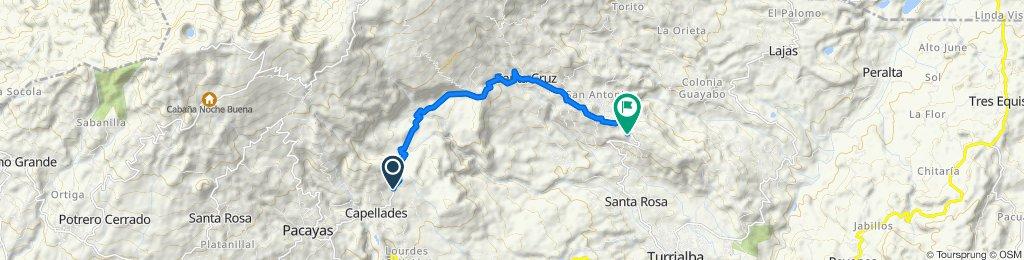 Cracking ride in Turrialba