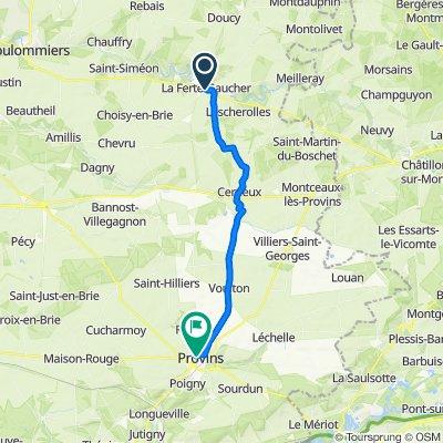 De 5 Rue de Paris, La Ferté-Gaucher à 18 Rue Saint-Thibault, Provins