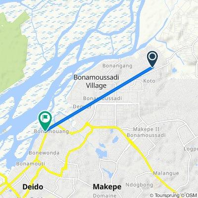 De Unnamed Road, Douala à Unnamed Road, Douala