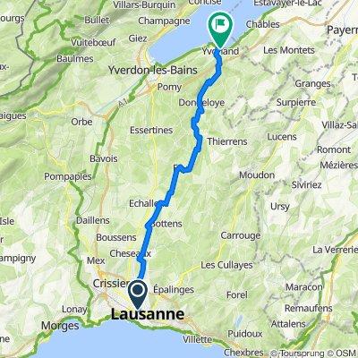 Lausanne-Yvonand