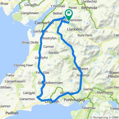50 mile Criccieth Loop