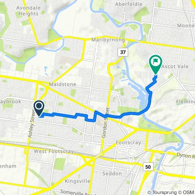 Moderate route in Ascot Vale