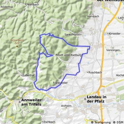 Modenbachtal-Tour mit ordentlich Höhenmetern