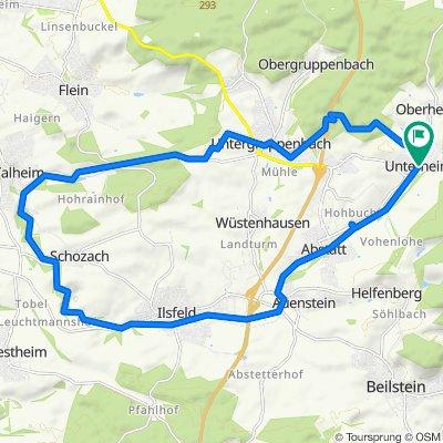 Unterheinriet - 2. Rundtour durch das Schozachtal