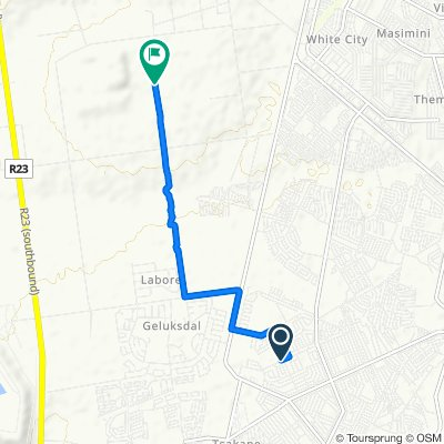 Nzima Street 10850, Brakpan to Withok Street, Brakpan