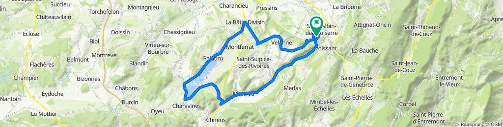 De Savagneu 130, Saint-Martin-de-Vaulserre à Savagneu 149, Saint-Martin-de-Vaulserre