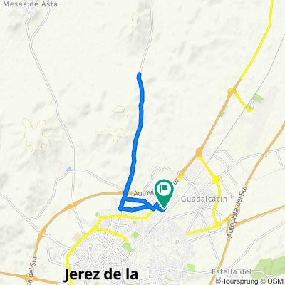 1 hour Norte de Jerez - caminos rurales