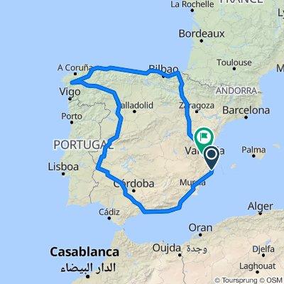 Vuelta a España - Ruta 1
