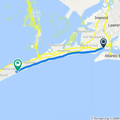 Moderate route in New York