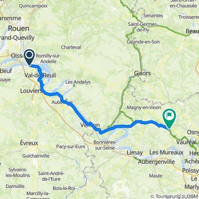 Pont de l'Arche - Vigny
