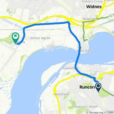 Heath Road, Runcorn to 25 Baguley Avenue, Widnes