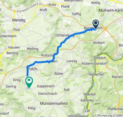 Martinstal 2, Bassenheim nach Von Schnetzstraße 21, Mertloch
