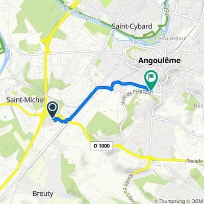 Steady ride in Angoulême