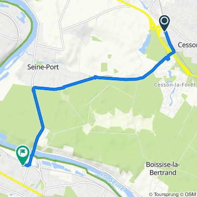 Steady ride in Saint-Fargeau-Ponthierry