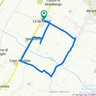 Da Via Ronchi Inferiore 33, Ca' de' Fabbri a Via Ronchi Inferiore 33, Ca' de' Fabbri
