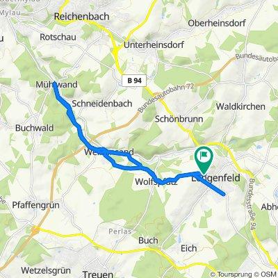 K7822 19, Lengenfeld nach Weststraße 24, Lengenfeld