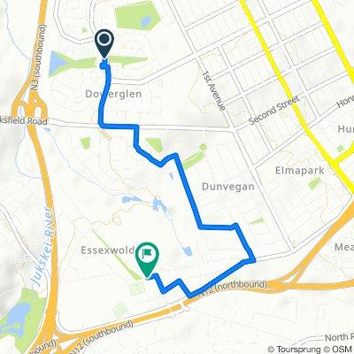 73 Sycamore Drive, Edenvale to 1 Gannet Avenue, Edenvale