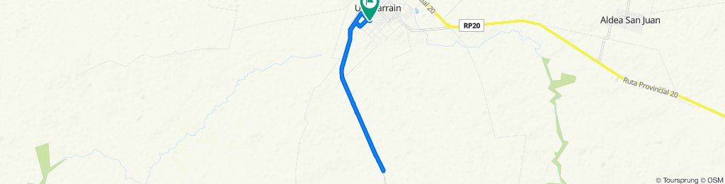 Easy ride in Gualeguaychú