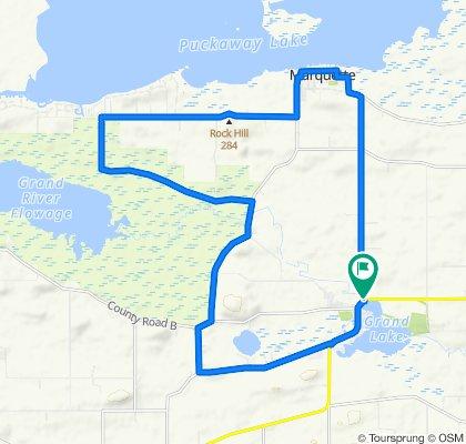 Lake Puckaway Route