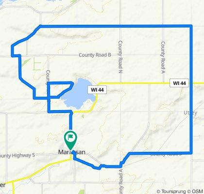 Little Green Lake Bike Route