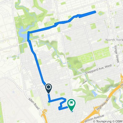 Faywood Boulevard 230, Toronto to Rosseau Road 10, Toronto