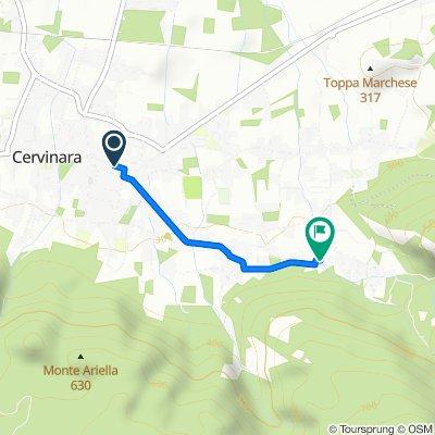 Da Via Variante 26, Cervinara a Via Mulino di Mezzo 4, Cervinara