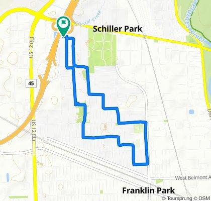 4204 Goss Ave, Schiller Park to 4204 Goss Ave, Schiller Park