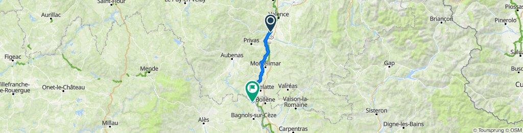 Beauchastel - Pont-Saint-Esprit
