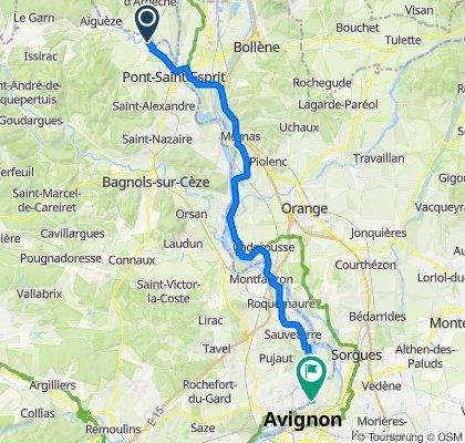 Pont-Saint-Esprit - Avignon