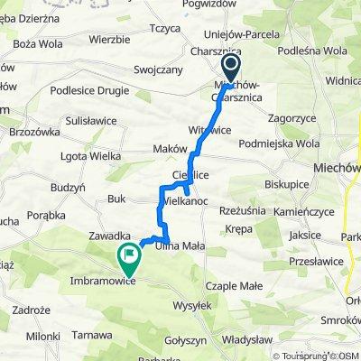 Żarnowiecka 49, Miechów-Charsznica do Imbramowice
