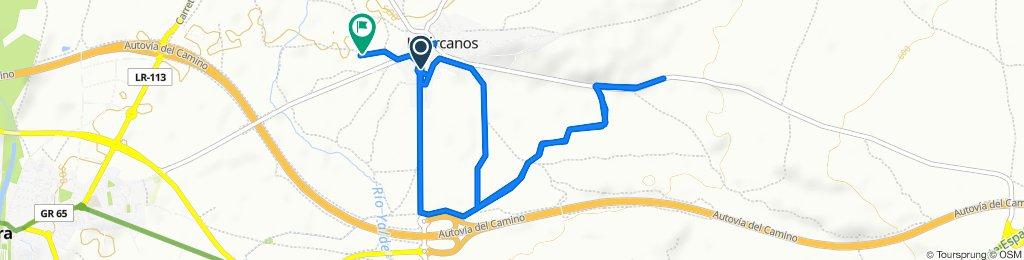 Steady ride in Huércanos