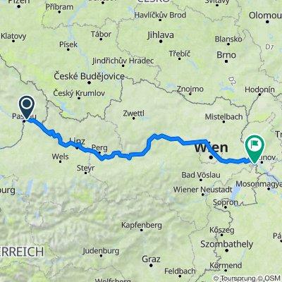 Donauradweg 02 - Österreich
