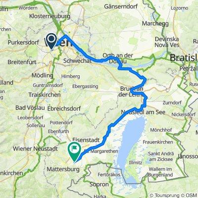 Wien - Donau - Neusiedl - Stöttera