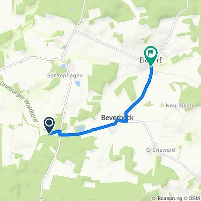 L233, Bienenbüttel nach Grünhagener Straße 15, Bienenbüttel
