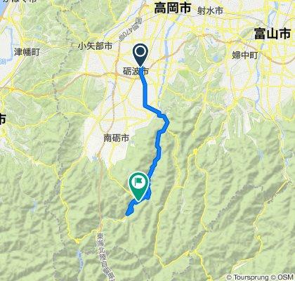 2020-6庄川峡は関電の餌食になった
