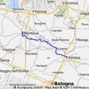 Mantova - Ferrara