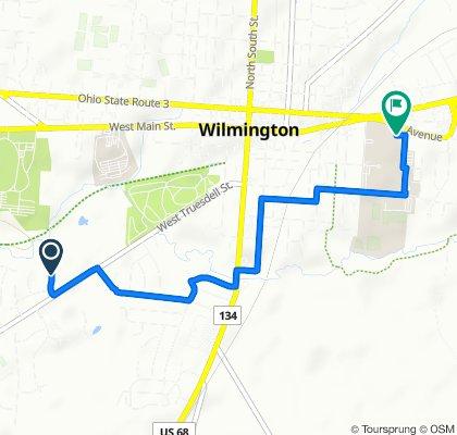 664 Timberlane St, Wilmington to 1870 Quaker Way, Wilmington