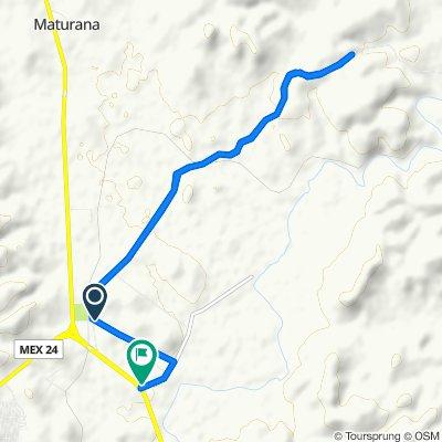 Blistering ride in Hidalgo del Parral