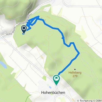 Restful route in Delligsen