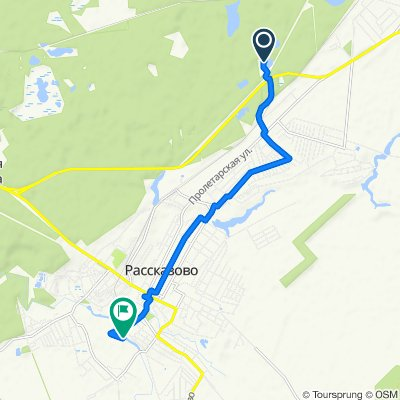 Moderate route in Рассказово